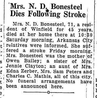 Chlista  E. Mathews Obituary