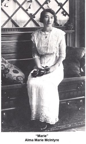 A photo of Alma Marie (McIntyre) Killion