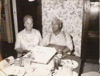 Bennie & Flora (Anderson) McGee