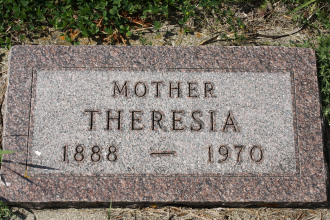 Theresia Marthe Gravesite
