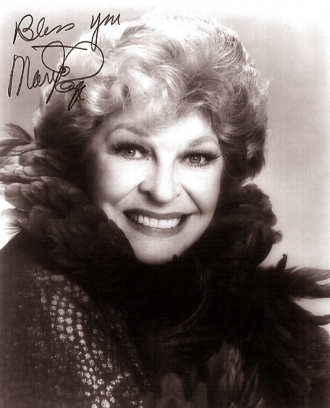 A photo of Martha Raye