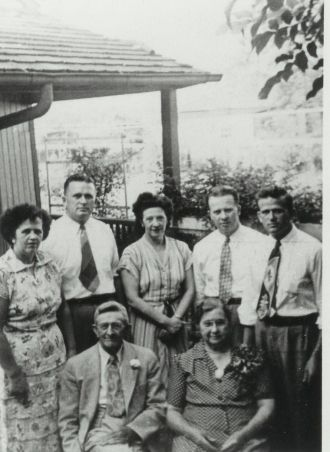 Henry John & Ida A Bailey Smith & Children