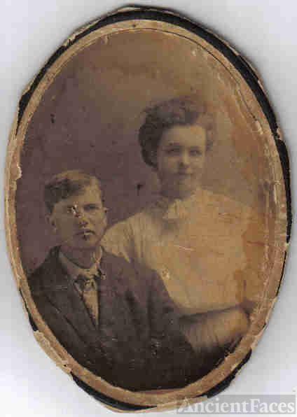John Knighten and sister Deller