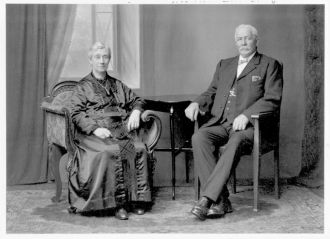 Alfred and Sarah (nee Cook) Cherry