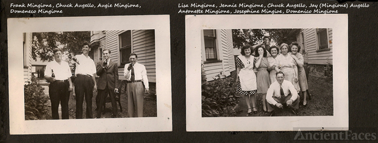 Page from family photo albume P1b