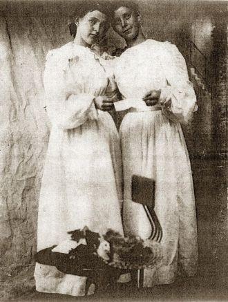 Matilda and Elvira Inabnit