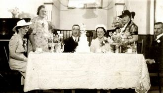 Margaret B Turner wedding