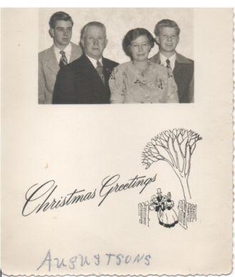 Augustson Family Christmas Card
