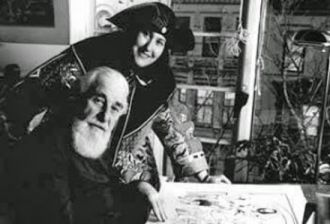 Albert Hirschfeld and Margo Felden