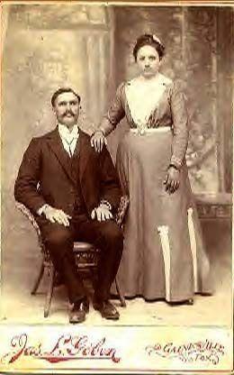 Tom & Mary (Green) Hollis, Texas 1905