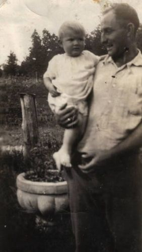Sylvester Reuter with His Daughter