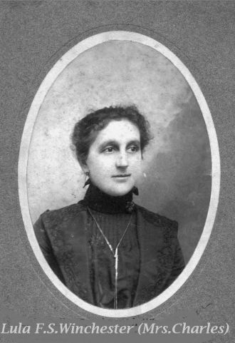 Lula Fuller (Scarbrough) Winchester
