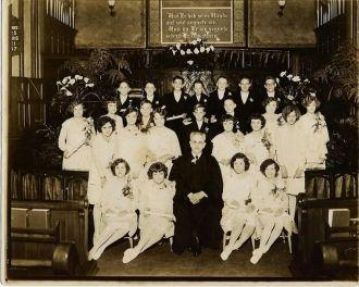1928 Confirmation Class, Scranton Pa