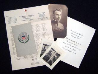 American Red Cross burial packet