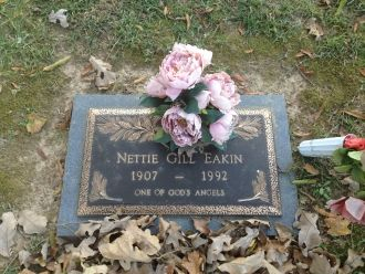 Nettie Eakin gravesite