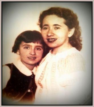 Odette and Ruchla Kaluszyner