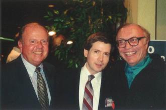Will Jordan, Dick Van Patten and Steve Randisi