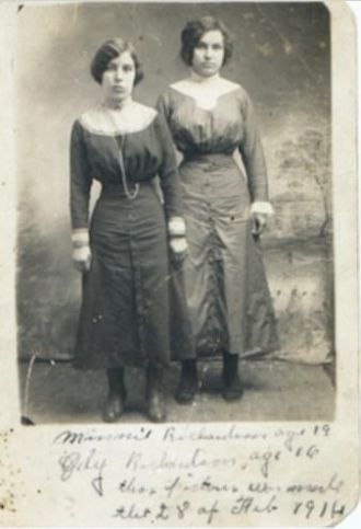 Minnie and Ody Richardson, 1914
