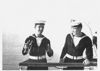A photo of Able Seaman Maurice Sabourin