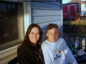 Pam Tuttle and friend, Rose Hamblin