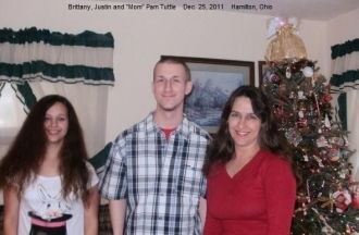 Brittany, Justin and Pam Tuttle, 2011