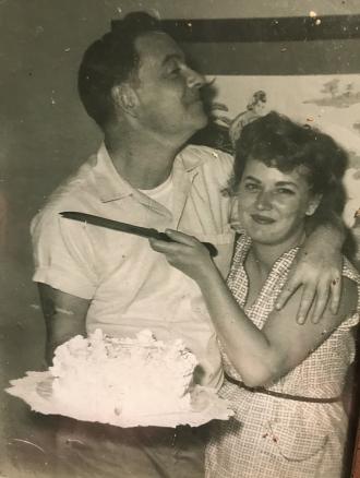 Enoch Joseph Zell and Marian Rita (Williams)Zell...AKA Grandma and Grandad Toots