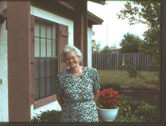 kKWilma Tomlinson (Shaw) 1993 in Jacksonville, Florida