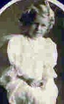 Ruth Buchanan Cain as a child