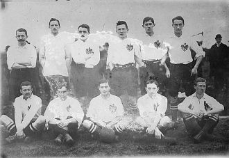 Preussen soccer team, Germany