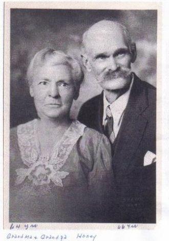 William & Minerva (Shoup) Honey, New Mexico