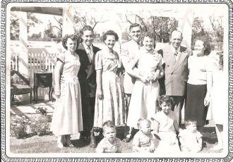 Wedding party of John & Kathy Marsh