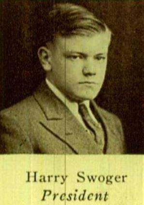Harry Swoger - Junior Class President Mount Vernon High School