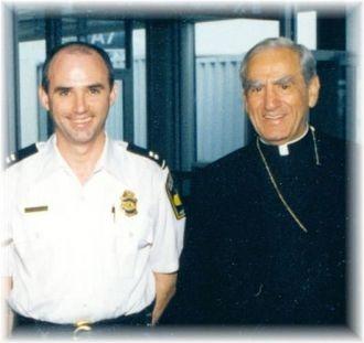 Fran X. McGowan & Cardinal Anthony Bevilacqua