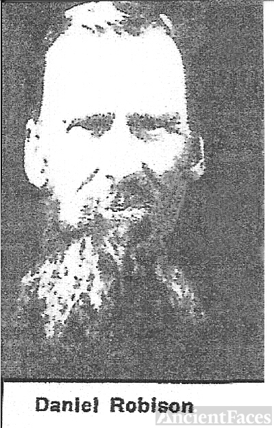 Daniel Robison Captain of the 9th Handcart Co of 1860.